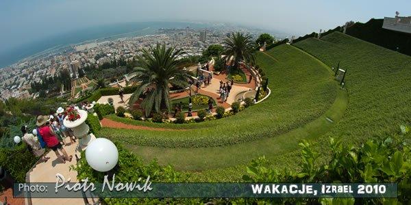 Ogrody Bahai, Haifa