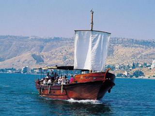 """Łódź Jezusa"" na Morzu Galilejskim"