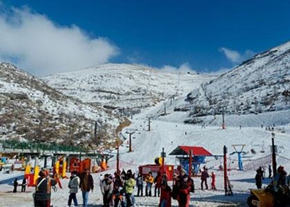 Sporty zimowe na Górze Hermon