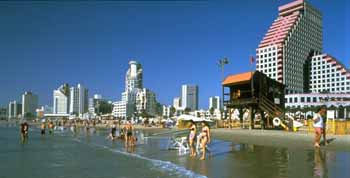 Plaża w Tel Awiwie
